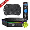 EASYTONE 2017 T95Z PLUS Android TV BOX 3GB 32GB,Android 7.1 TV Box Amlogic Octa-Core,Dual-Band Wi-Fi 2.4/5.8G Smart Boxes Android Mini PC with Wireless Keyboard Remote (BACKLIT)