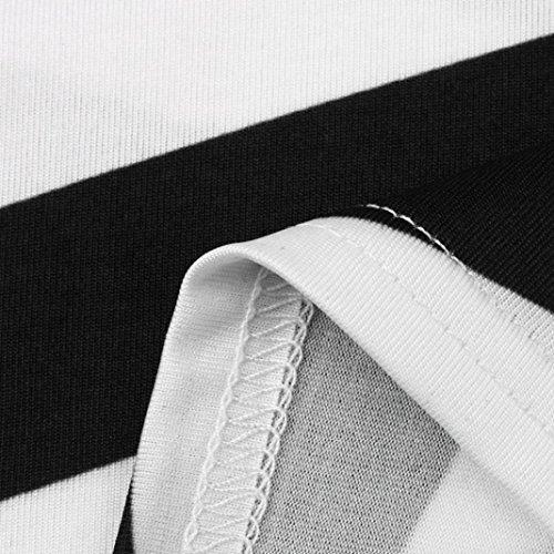 Minikleider Der Working Schwarz Kleider Frauen Bleistift-streifen-partei-kleid-beiläufige Taottao