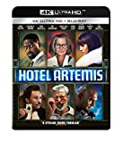Hotel Artemis Cover - 4K Ultra HD Blu-ray, Blu-ray, DVD