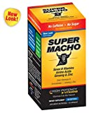 Super Macho Dietary Supplement with High Potency B Vitamins, No Preservatives, Sugar or Caffeine, Made in USA, 50 Softgels For Sale