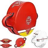 VELO Leather Round Strike Kick Shield Pad Punch Bag
