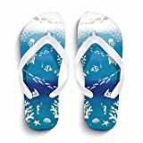 Ron Kite Womens Fashion Flip Flops Beach Sandals Anti-Slip Slippers