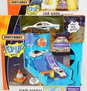 Amazon Com Wash In Matchbox Car Wash Diorama Playset O Genuine