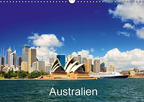 Australien (Wandkalender 2016 DIN A3 quer): Australien in stimmungsvollen Fotos. (Monatskalender, 14 Seiten) (Calvendo Orte)