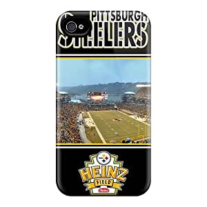 Bumper Hard Phone Cover For iphone 6 4.7 With Support Your Personal Customized Beautiful Pittsburgh Steelers Skin SherriFakhry