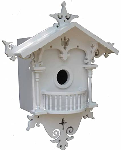 Amazon.com: Home Bazaar Cuco Cottage Birdhouse para ...