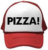 pizza cap - The Goozler Pizza! - Unisex Adult Trucker Cap Hat, Red