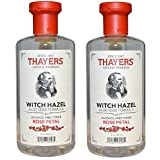 Thayers Alcohol-Free Rose Petal Witch Hazel Toner - 12oz (2 Pack)