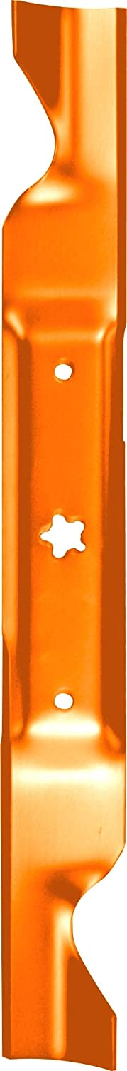 Husqvarna HU21462 46-Inch Premium Hi-Lift Bagging Blade, 2-Pack, Orange
