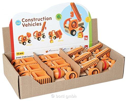 Display Baustellenfahrzeuge 2 (12 Stück)