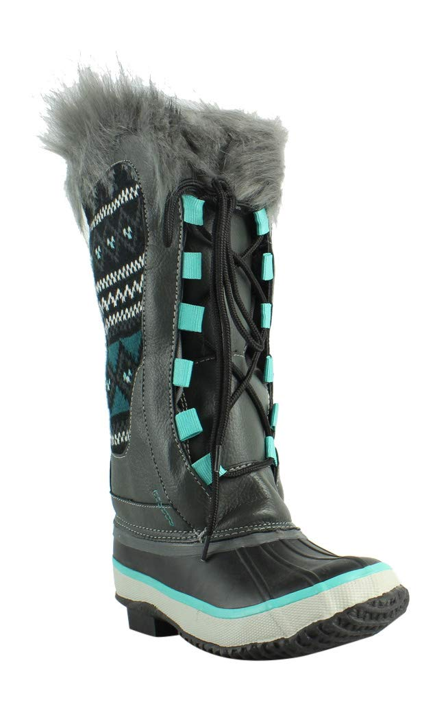 Western Chief Women's Cold Weather Boot, Teal, 7 M US