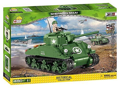COBI Small Army WW-Sherman M4A1 Tank Building - Sherman Tank