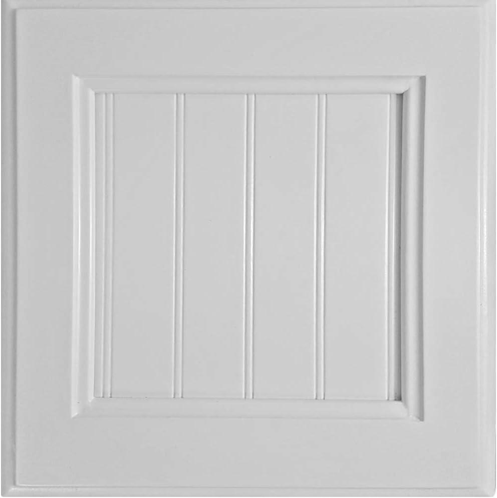 American Heartland Poplar Double Door Armoire W/Drawers in Bright White