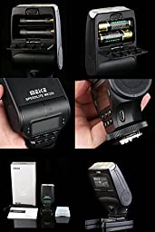 SHOOT MK-320 Mini TTL Flash Speedlite for Sony A7 A7II A7S A7R A7SII A7RII A6000 NEX-6 camera