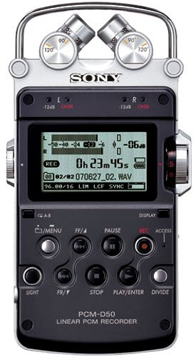 (Sony Linear Pcm Recorder PCM-D50 [Japan Import] by Sony)