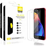 Chanisen iPhone 7/8 Plus Glass Screen Protector,9H Tempered Glass,Ultrathin,High Light Transmittance, Anti-Fingerprint/Scratch-Resisting/High Sensitivity/Anti-Explosion(2 Packs)