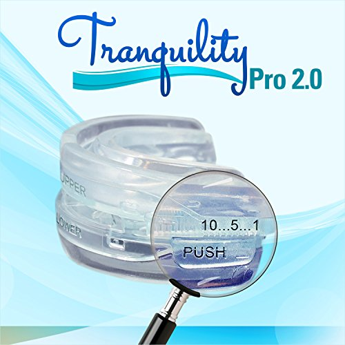 Tranquility Pro 2 Adjustable Bruxism Night Mouthpiece Sleep Mouthguard Mouth Guard Aid by Pro Tech Dental (Image #8)