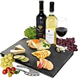 Large Slate Cheese Board Natural Stone Plates Serving Tray Rectangular(12
