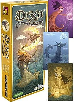 DIXIT Expansión - Todas las expansiones disponibles - Dixit Daydreams (DIX07ML): Amazon.es: Juguetes y juegos
