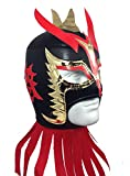 ULTIMO DRAGON Adult Lucha Libre Wrestling Mask (pro-fit) Costume Wear - Black