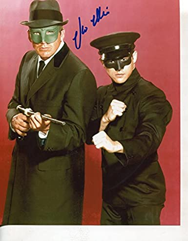 "* VAN WILLIAMS w/Bruce Lee * classic ""Green Hornet"" signed 8x10"" photo / UACC Registered Dealer # 212"
