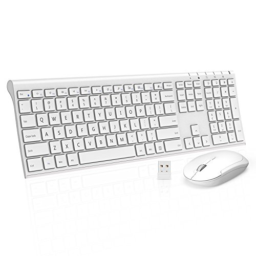 Wireless Keyboard Jelly Comb Rechargeable