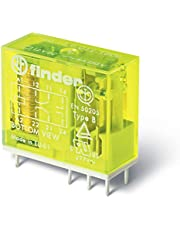 Finder 50.12.9.024.1000 DPDT 8A, 24V DC Coil, AgNi Contact, Forcibly Guided Contacts Relay