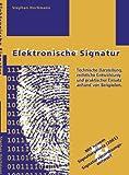 Elektronische Signatur, Stephan Hochmann, 3831123969
