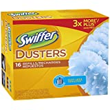 Swiffer Disposable Cleaning Dusters Refills, Unscented, 16-Count (Packaging May Vary) , Pack of 2