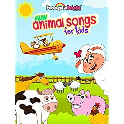 Fun Animal Songs for Kids by HooplaKidz