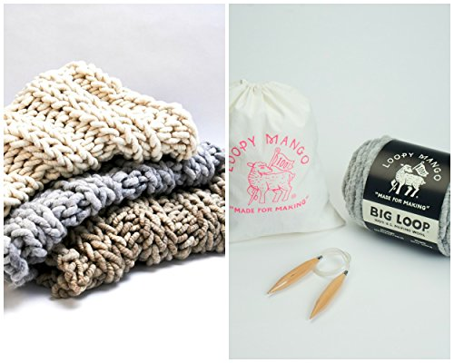 Loopy Knit - Loopy Mango DIY Knit Kit