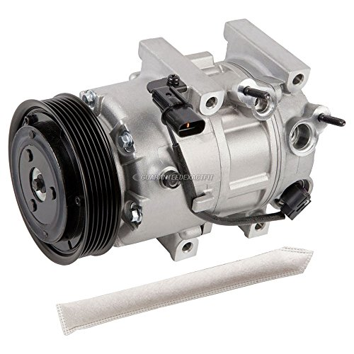 (OEM AC Compressor w/A/C Drier For Hyundai Sonata 2011 2012 2013 2014 - BuyAutoParts 60-88420R4 New )