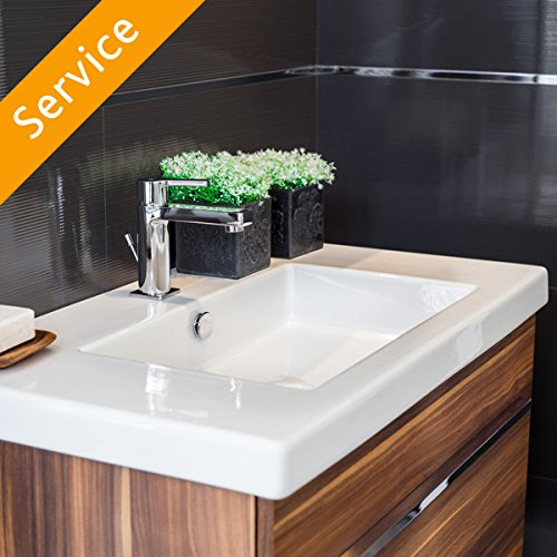 Bathroom Vanity Assembly and Installation - Free Standing