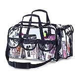 Premium Clear Makeup Organizer PVC Toiletry Bag 17\