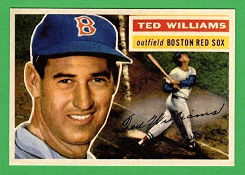 Ted Williams 1956 Topps Baseball Reprint Card (Red Sox)