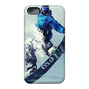 TammyCullen Apple Iphone 6s Plus Shock Absorption Hard Phone Case Provide Private Custom Lifelike Snowboard Image [vOZ1769rDMx]