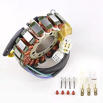 OEM Repl.# 4KB-85510-10-00 4KB-85510-12-00 Stator Fits Yamaha YFM 350 Big Bear//YFM 350 Wolverine 1997-2001 YFM350 4KB-85510-11-00