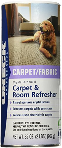Oreck Aroma Crystals, Room Freshener Shaker Can 2Lb (Room Refresher)