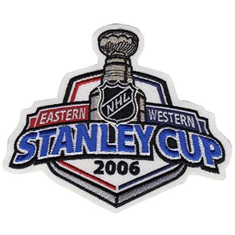 a57d3220 ... discount code for 2006 nhl stanley cup jersey patch carolina hurricanes  vs. edmonton oilers 2f58e