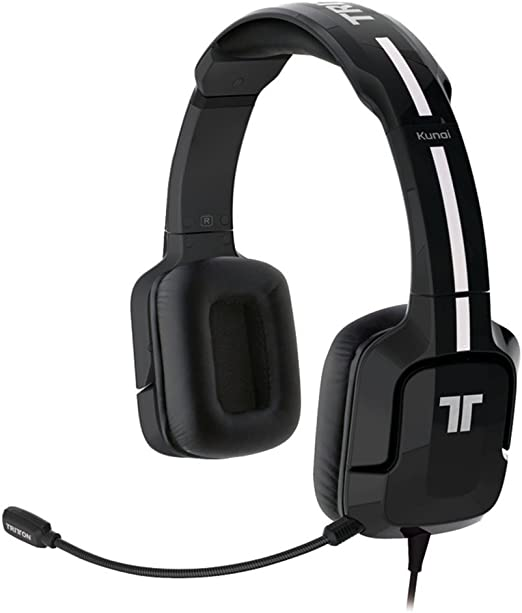 Tritton - Auriculares Kunai, Color Negro (PS4, PS3, PS Vita): Amazon.es: Videojuegos