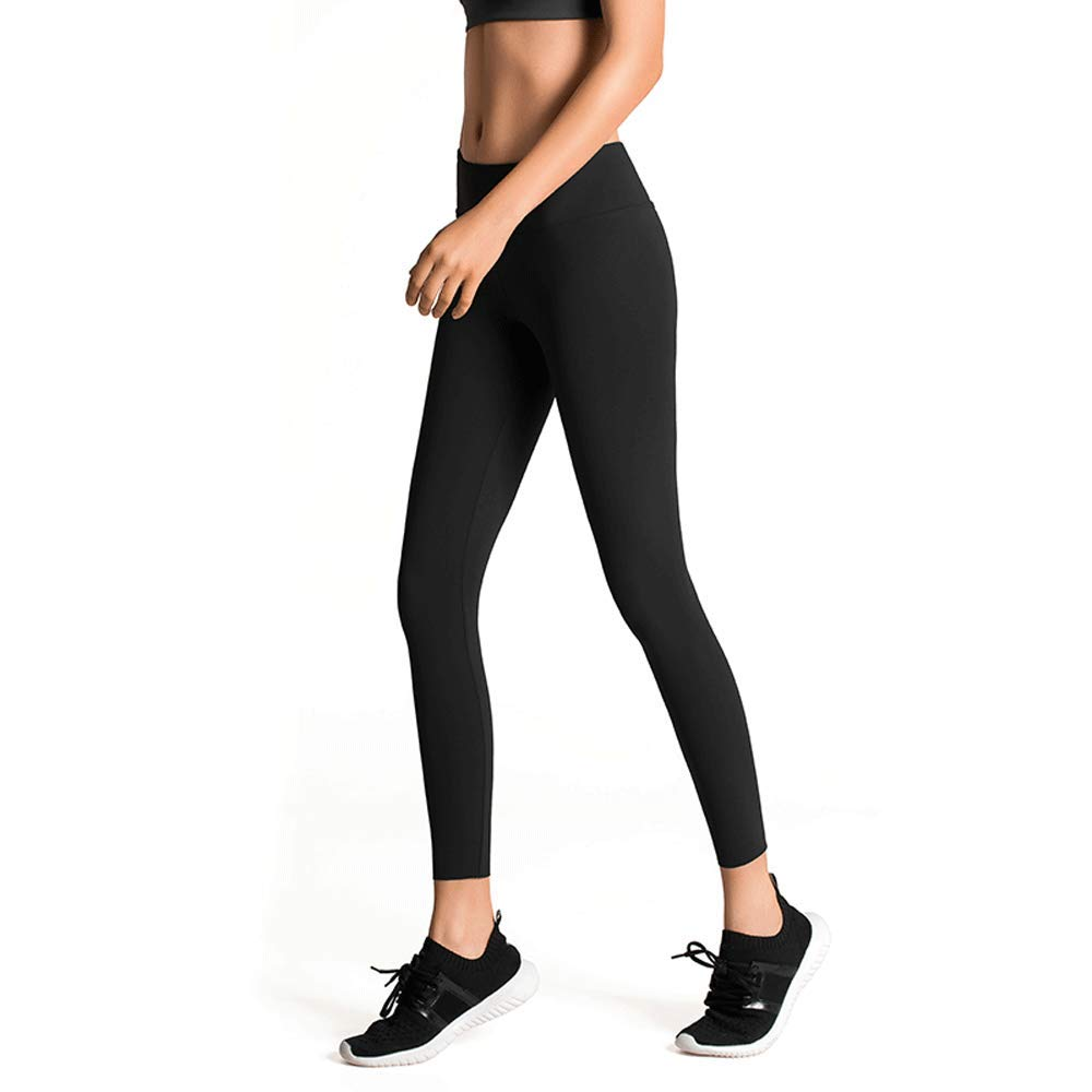 C Sports Stretch Tights - Pantalon de Fitness pour entraînement de Haute Stretch pour Femme Running Pantalon de Compression à séchage Rapide Pantalon de Sport Skinny Pantalon de Yoga XS