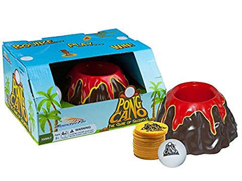 PongCano Volcano Family Board Game - Ball Bounce Fun for All Ages, Kids and Adults 8 Years and Up (American Horror Story Box Set)