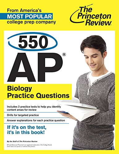550 AP Biology Practice Questions (College Test Preparation) (English Edition)