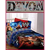 Wwe Inspired Wooden Wall Letters Decor