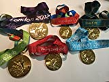 Summer Olympics GOLD Medal Collection RIO LONDON BEIJING ATHENS SYDNEY ATLANTA w Ribbons Team USA