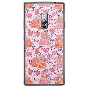 Loud Universe OnePlus 2 Love Valentine Printing Files Valentine 176 Printed Transparent Edge Case - Multi Color