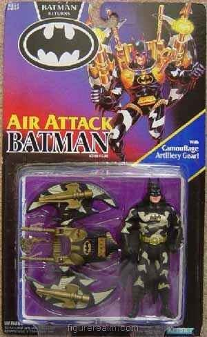 BATMAN RETURNS: Air Attack Batman with Camoflage Artillery Gear