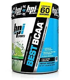 BPI Sports Best BCAA Powder Lime Sherbet 60 Servings