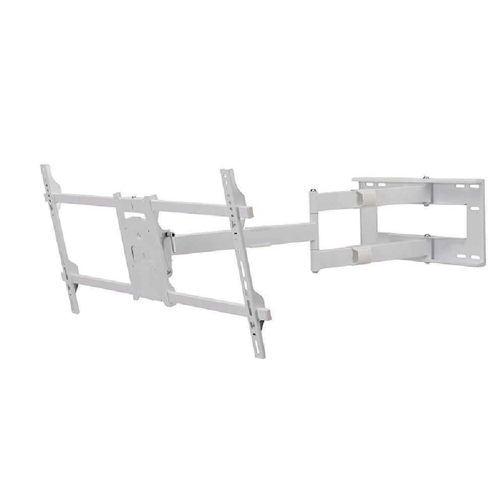 DQ Reach XXL 101 cm Supporto TV Bianco VESA 200x200 .. 800x400 mm Completamente portatile // Girevole // Orientabile // Inclinabile Consigliato TV-size: 42-80
