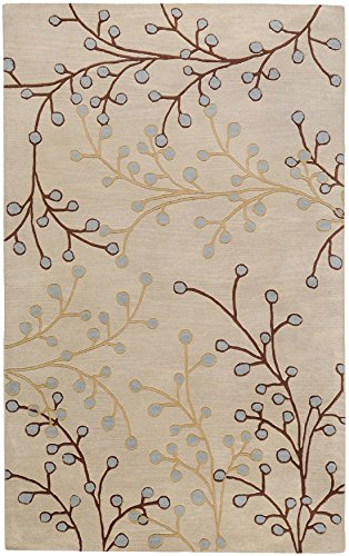 Surya ATH-5008 then Plush Pile Hand Tufted Wool Transitional Rugs (Buds Rug Pile Wool)